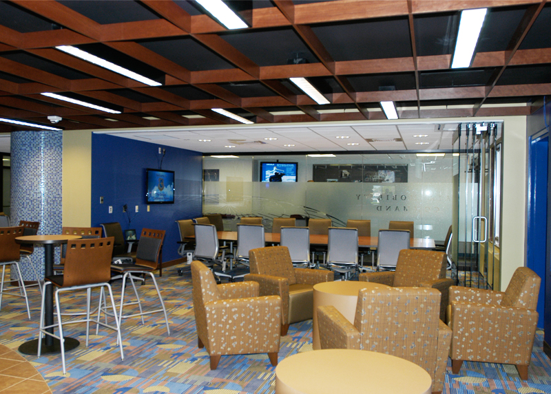 Scott Air Force Base AMC Global Reach Grille by BHDG Architecture Interiors